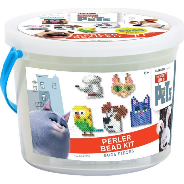 The Secret Life of Pets Perler Bead Kit