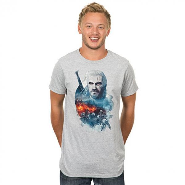 The Witcher 3 Geralt Into Fire T-Shirt