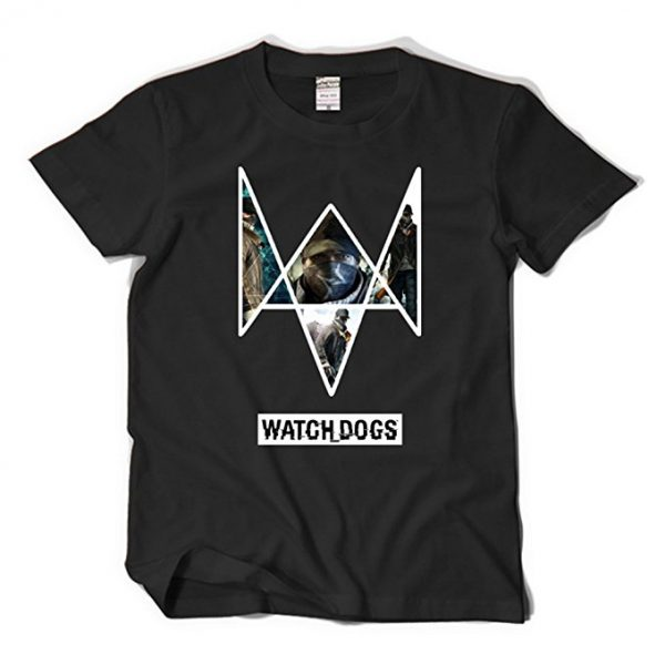 Watch Dogs Aiden Pearce Logo Title T-Shirt