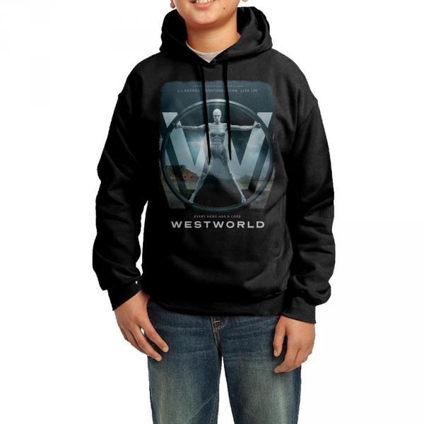 Westworld 'Every Hero has a Code' Hoodie