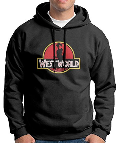 Westworld Jurassic Park Style Hoodie
