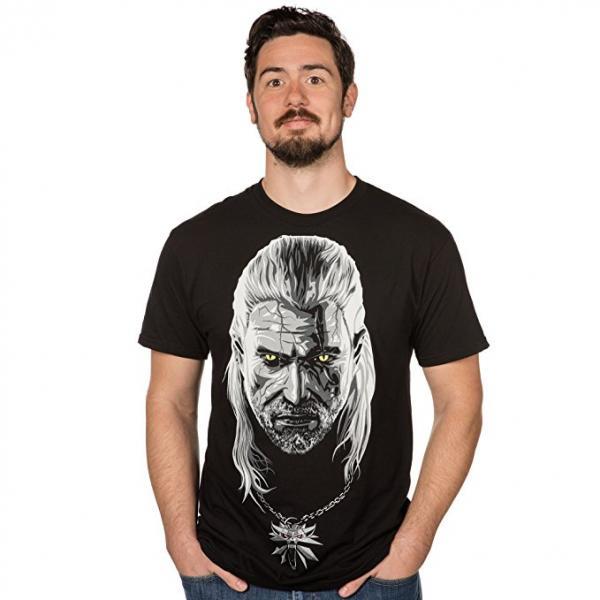 Witcher Geralt Portrait T-Shirt