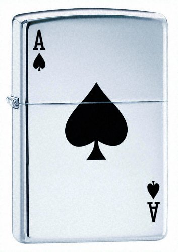 Zippo Ace of Spades Card Lighter