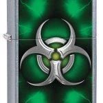 Zippo Biohazard Lighter Green