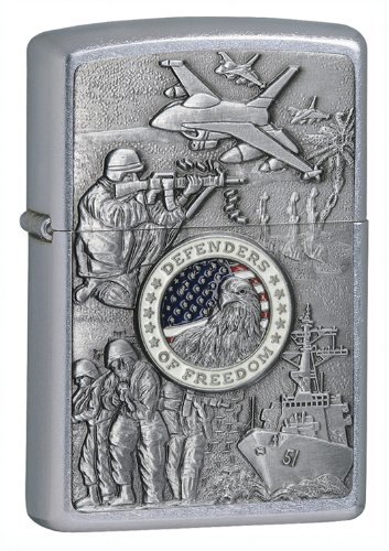 Zippo Defenders of Freedom Lighter