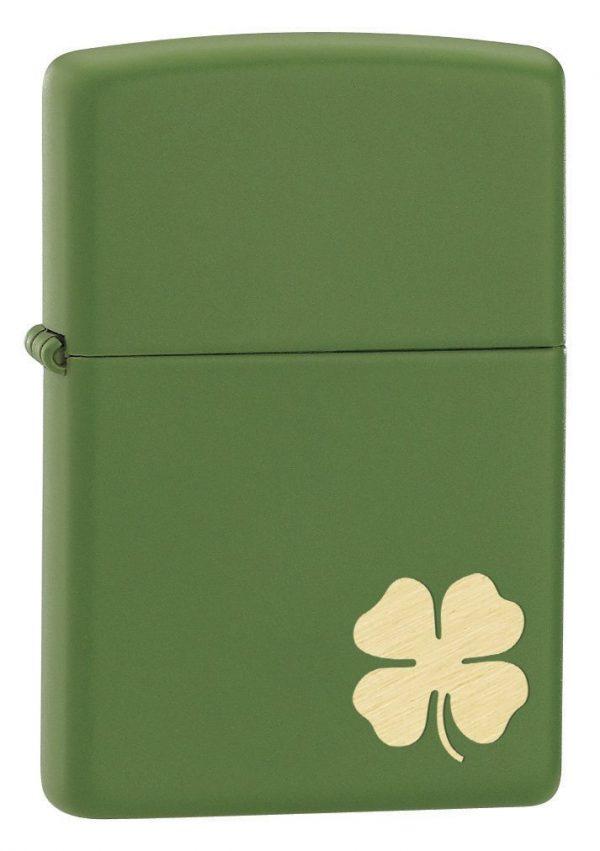 Zippo Four-Leaf Clover Lighter
