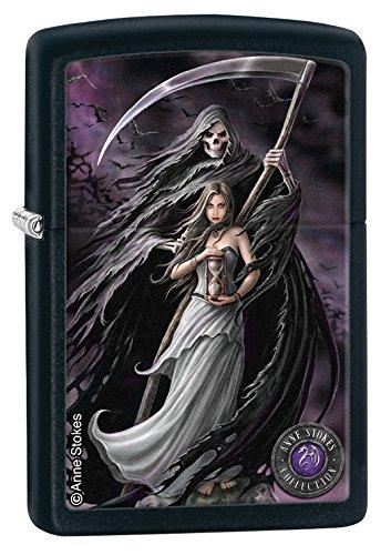 Zippo Grim Reaper Black Lighter