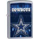 Zippo NFL Dallas Cowboys Chrome Lighter