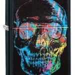 Zippo Psychedelic Skull Lighter
