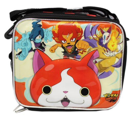 authentic yo-kai watch lunch bag