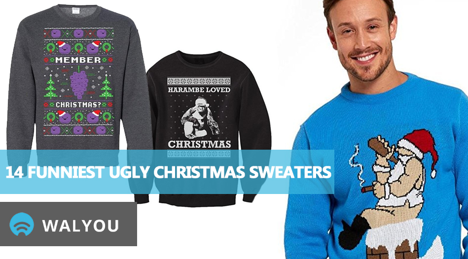14 Funniest Ugly Christmas Sweaters - Walyou