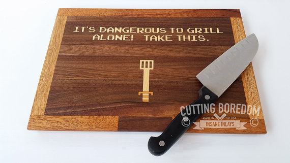 best-cutting-board-fuuny-geek-zelda