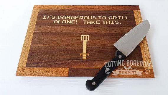 best-cutting-board-fuuny-geek-zelda