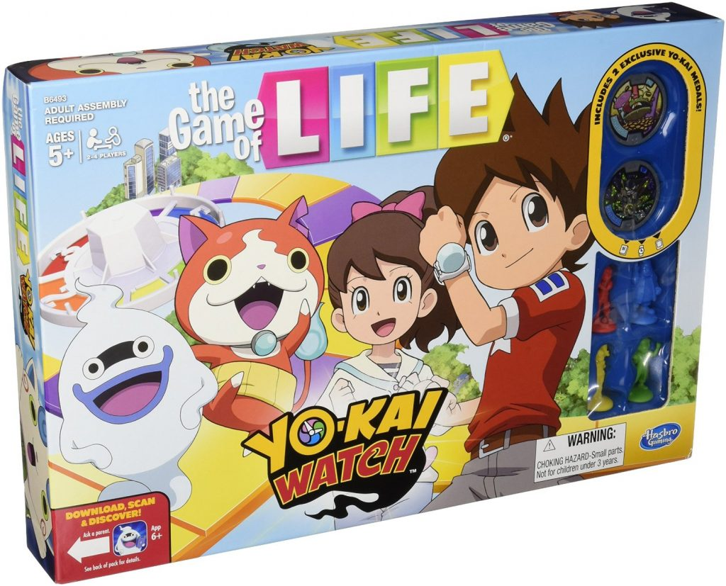 game of life yo-kai watch edition