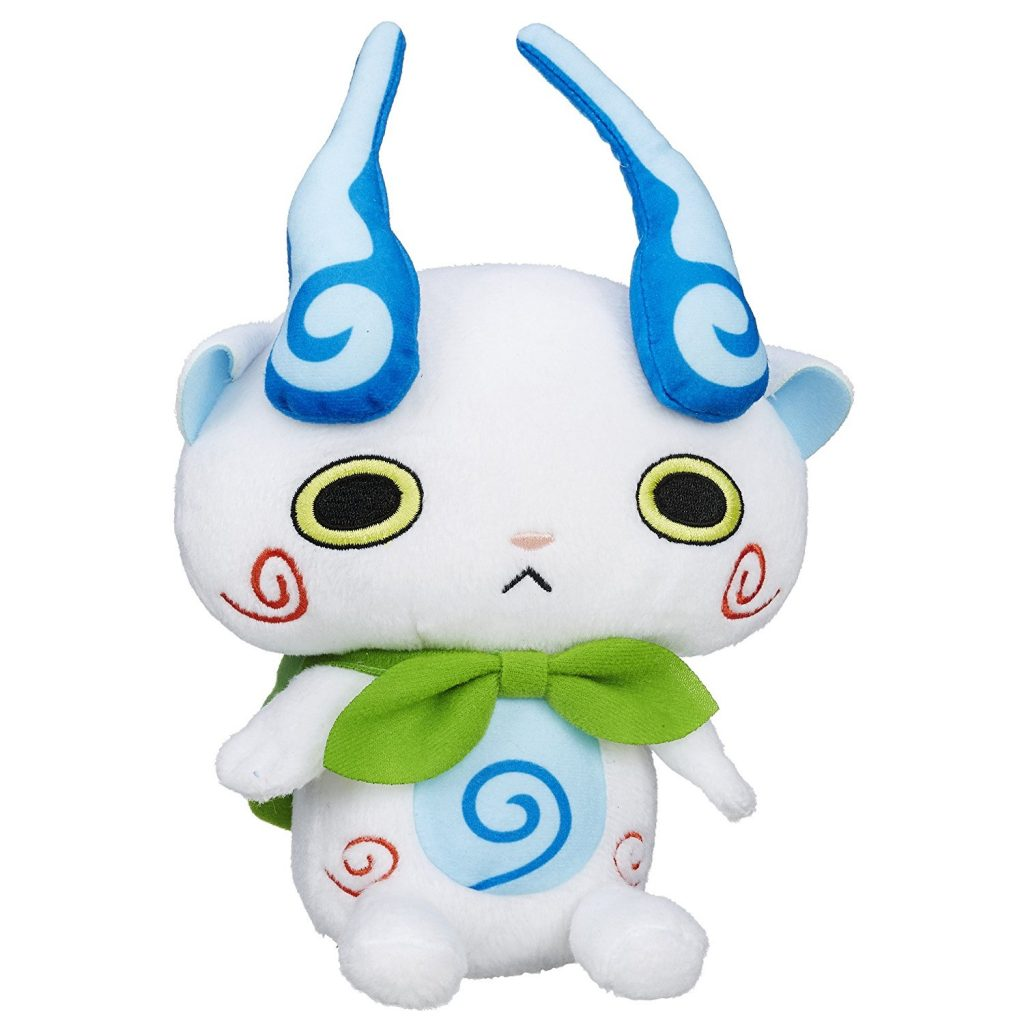 yo-kai watch plush figure komasan