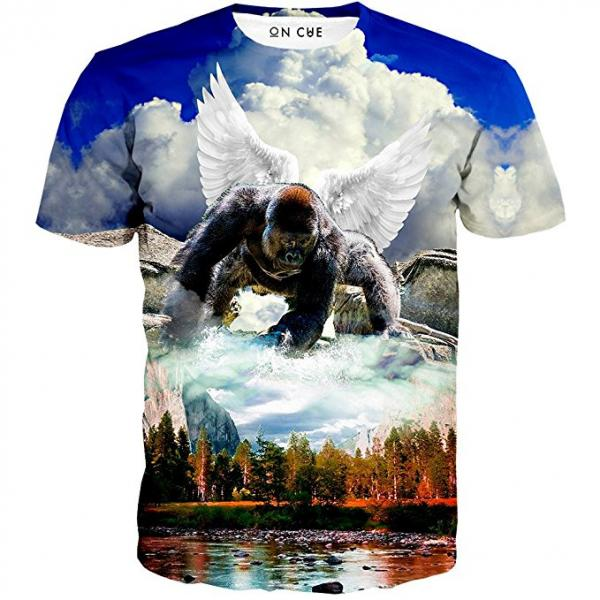 Harambe Angel in Heaven T-Shirt