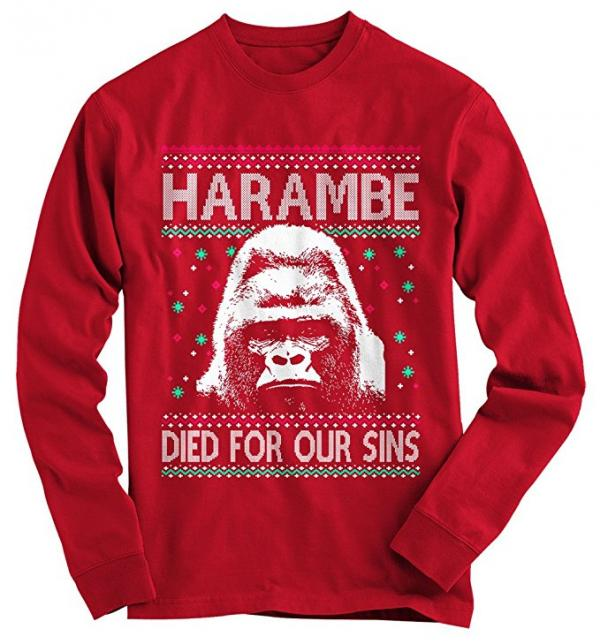 Harambe Died for Our Sins