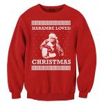 Harambe Loved Christmas Sweatshirt