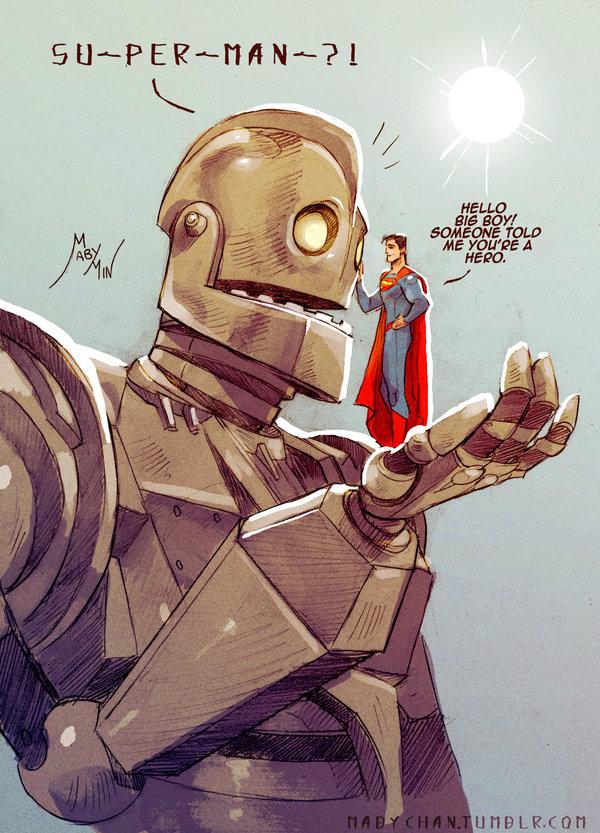Iron Giant & Superman