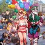 Joker & Harley by Abe Lopez