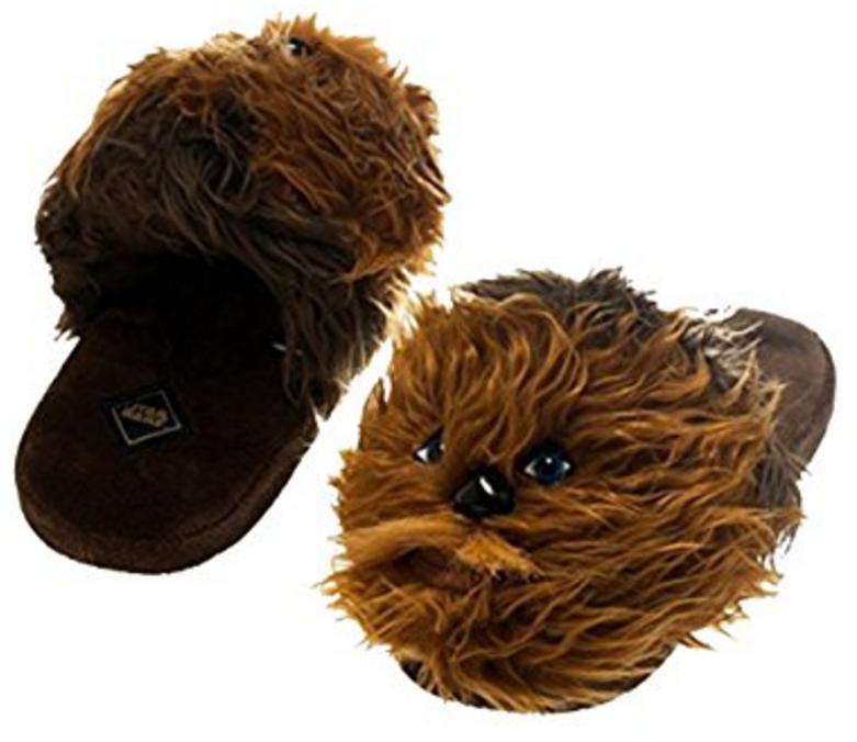 star-wars-chewbacca-plush-slippers