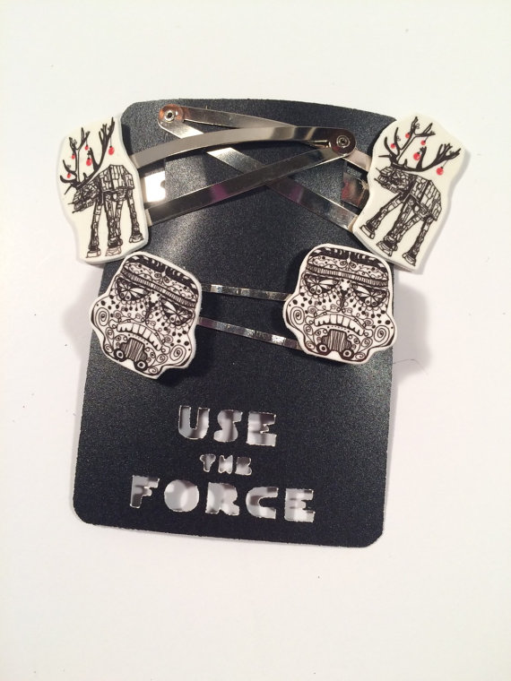 Star Wars Inspired Hair Pins