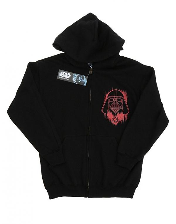 Star Wars Rogue One Darth Vader Logo Hoodie