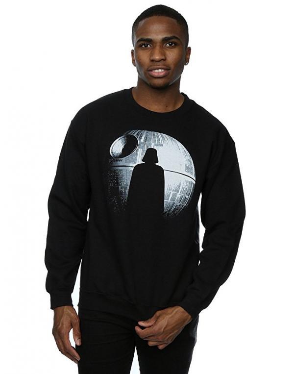 Star Wars Rogue One Death Star Darth Vader Silhouette Sweatshirt