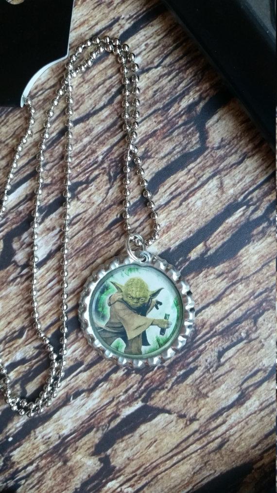 Star Wars Yoda Ball Chain Necklace