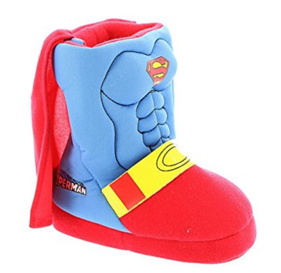 superman-boots-slippers-for-toddler-boys