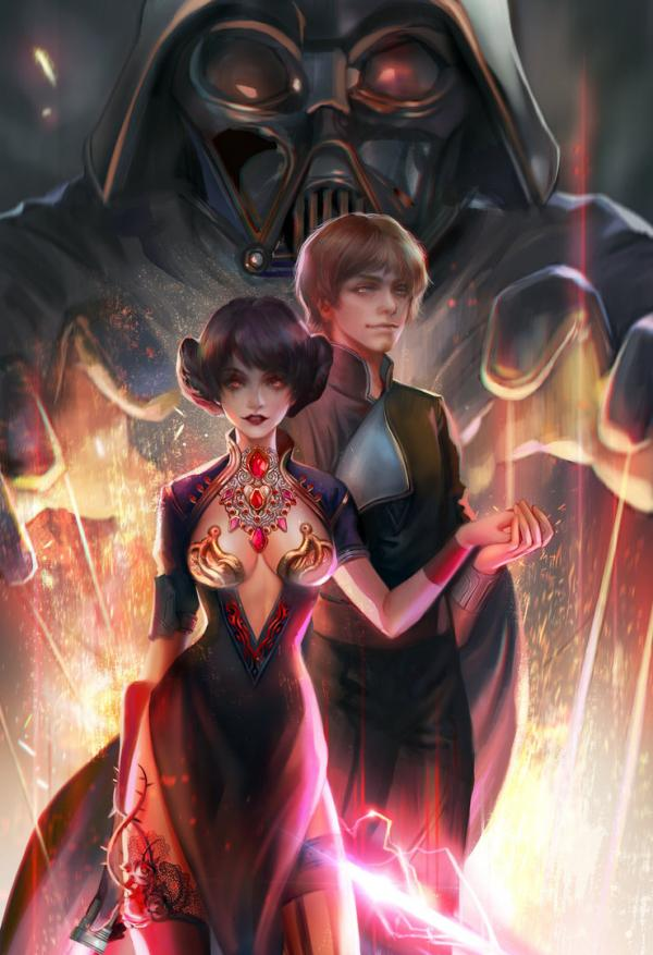 The Dark Side of the Force by jiuge