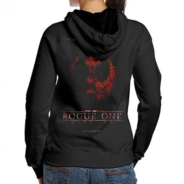 Women's Star Wars Rogue One Rebellion Logo Hoodie
