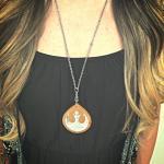 Wooden Star Wars Rebellion Necklace