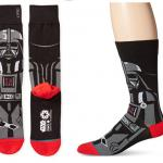 best-gift-idea-for-silly-funny-dads-mens-vader-crew-socks
