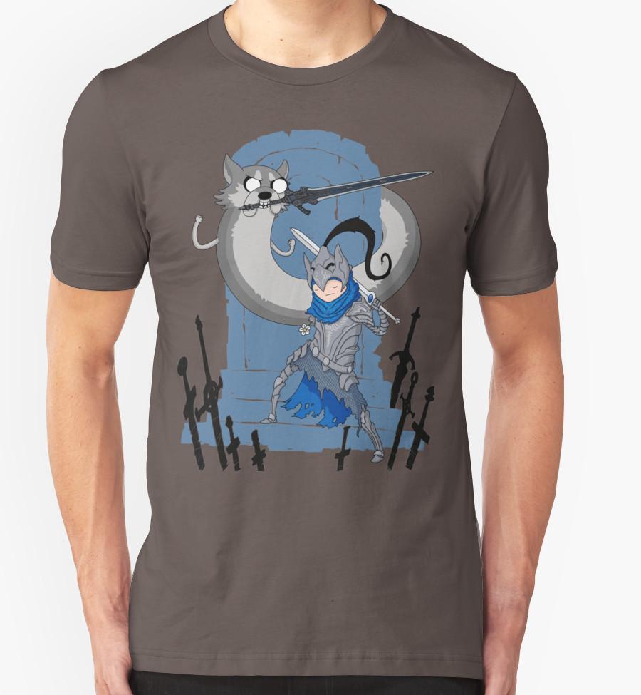 dark-souls-adventure-souls-t-shirt