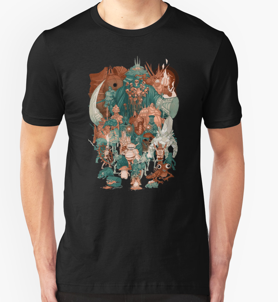 dark-souls-group-t-shirt