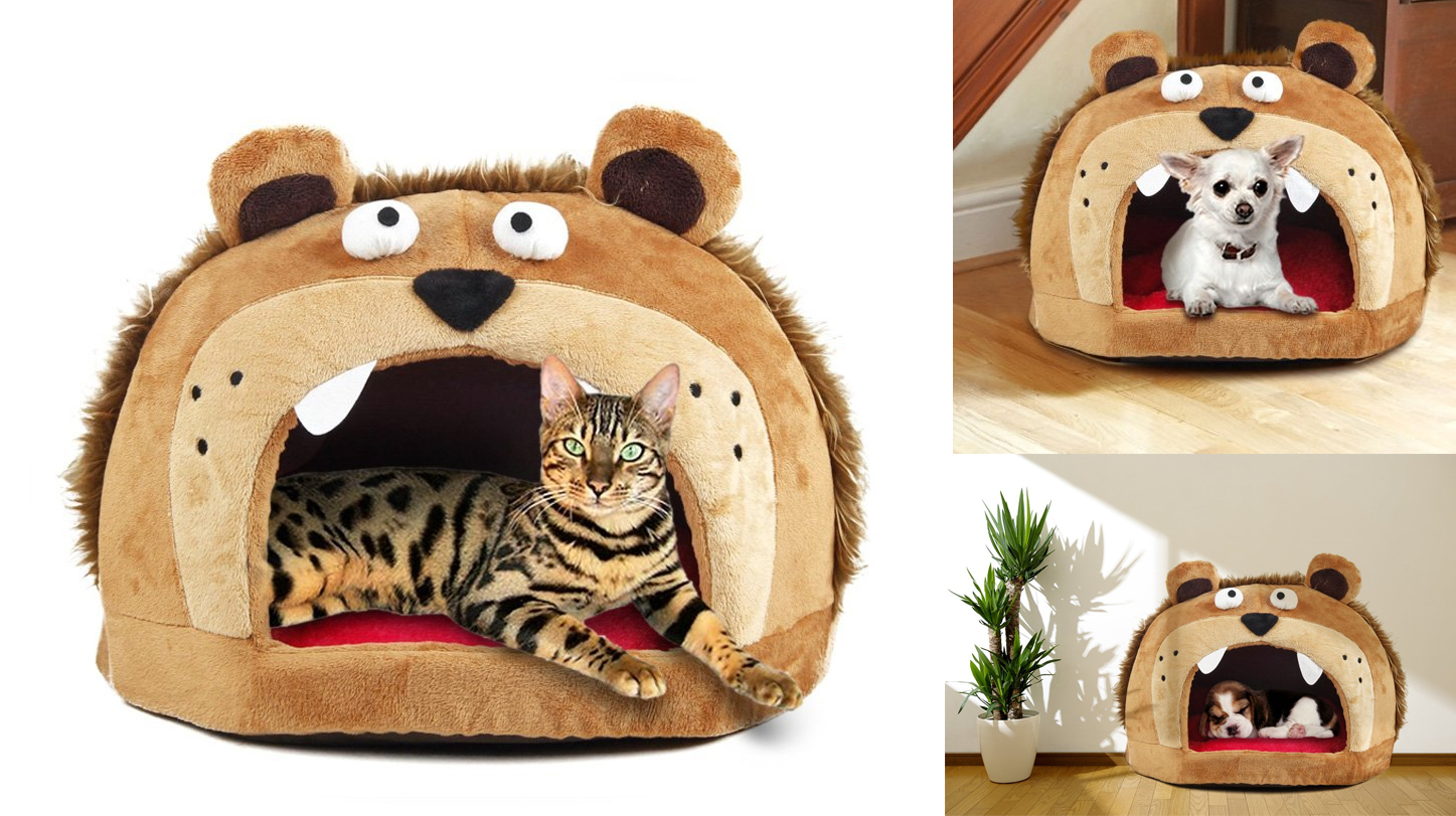 gift-ideas-for-dog-cat-funny-pet-bed-castel-pet-house-and-bed-by-petories