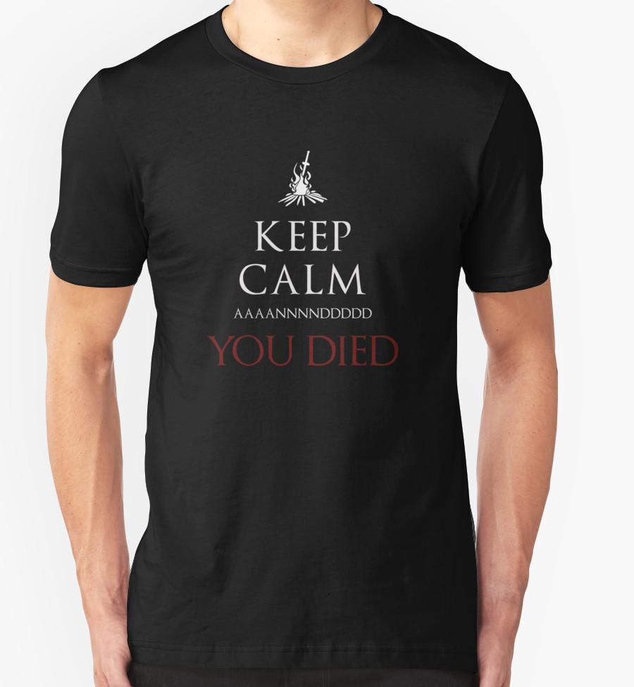 keep-calm-you-die-dark-souls-t-shirt