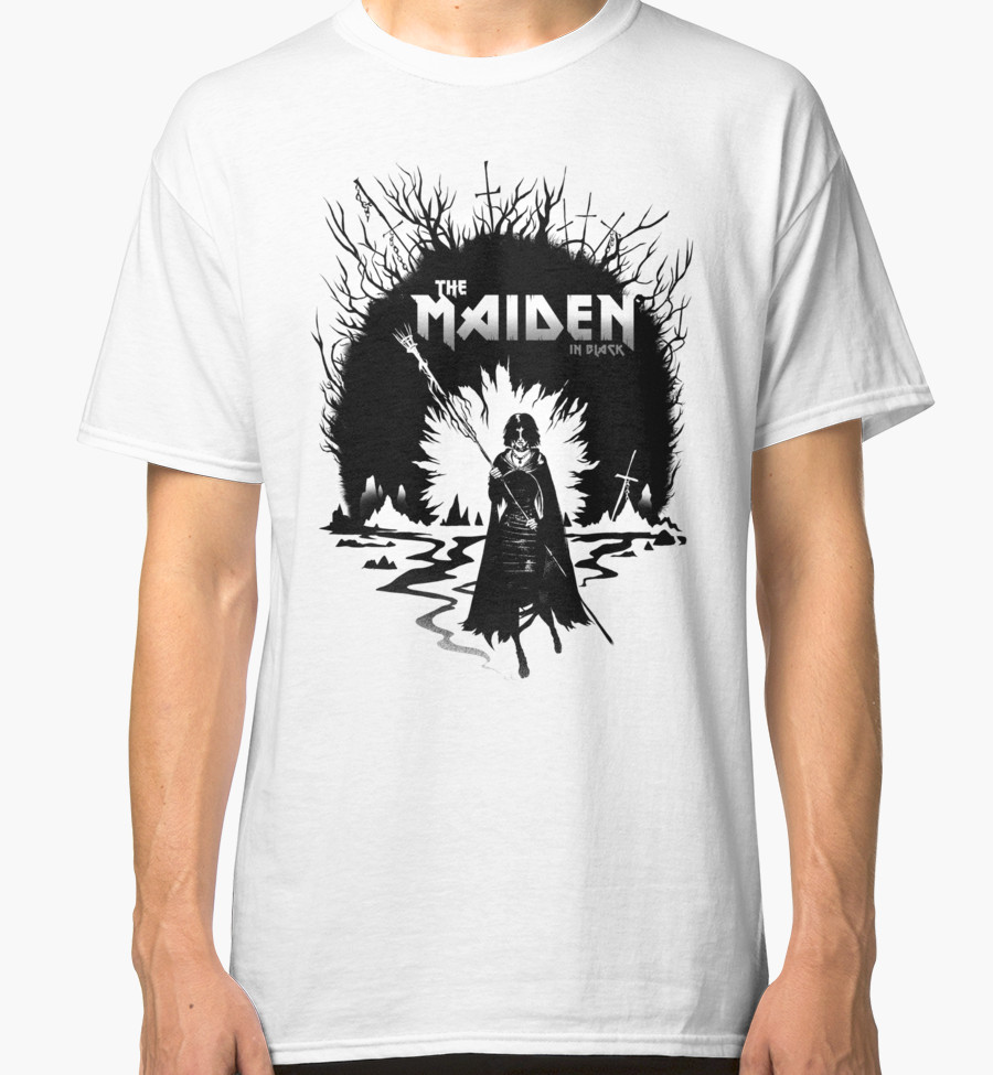 the-maiden-dark-souls-t-shirt