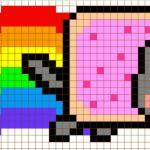 Nyan cat – Cross Stitch Pattern