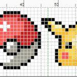 Pokemon Cross Stitch Pattern