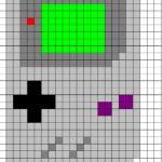 Gameboy Cross Stitch Pattern
