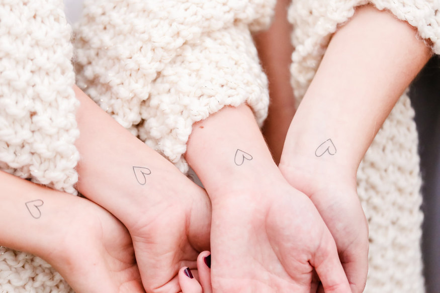 2017-best-realistic-looking-temporary-fake-tattoos-etsy-valentines-day-tattoos-bridesmaid-gift-heart
