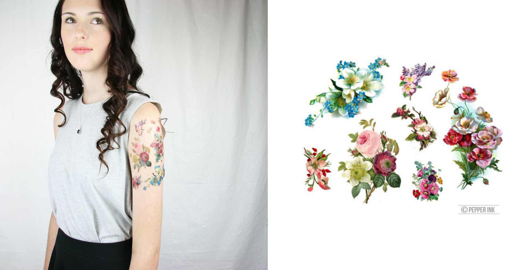 2017-the-best-realistic-looking-temporary-fake-tattoos-you-can-find-on-etsy-flowers