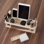 Beauty Station –  Make-up Organizer with Mirror