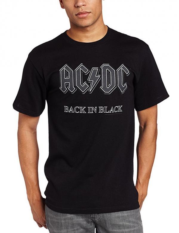 AC DC Back in Black T-Shirt