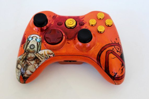borderlands-hand-painted-custom-controller