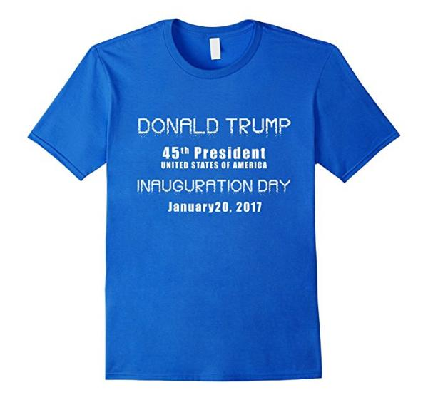 Donald Trump 45th President T-Shirt
