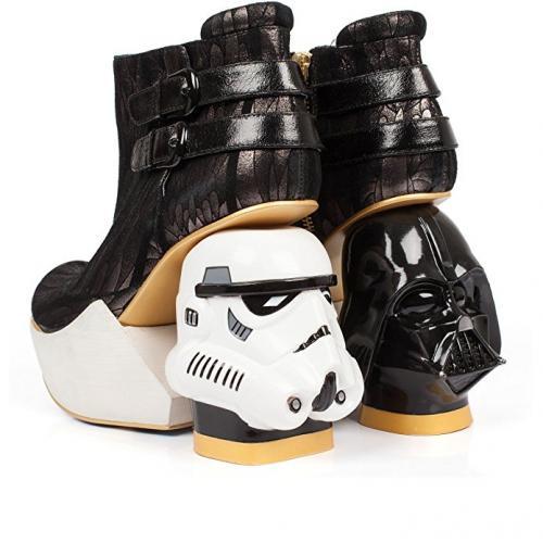 Irregular Choice Star Wars Darth Vader & Stormtrooper Shoes