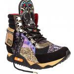 Irregular Choice Women's Colorful High Sneaker Star Wars